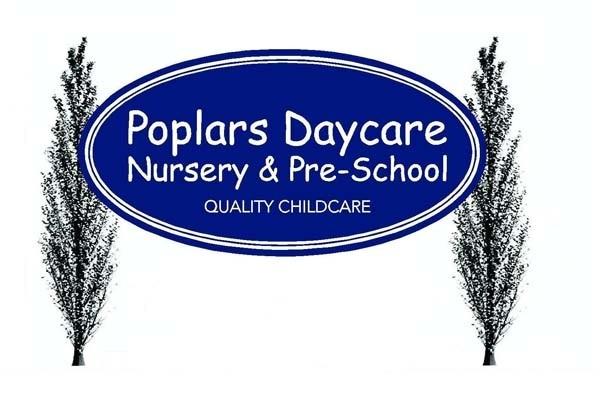 Poplars Daycare logo