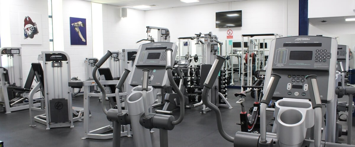 Gym at Queens Drive campus