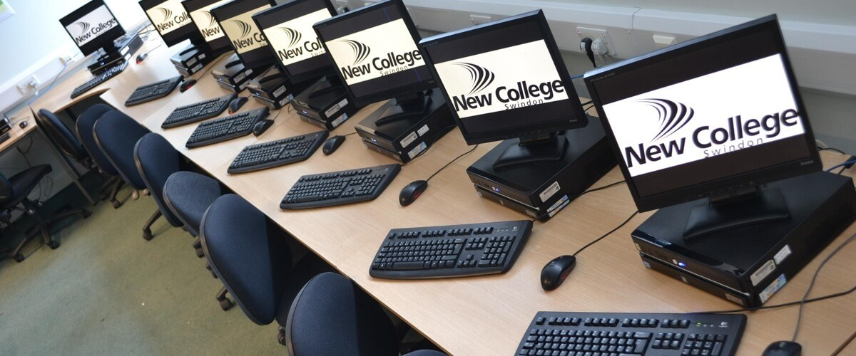 ICT training suite at Queens Drive campus